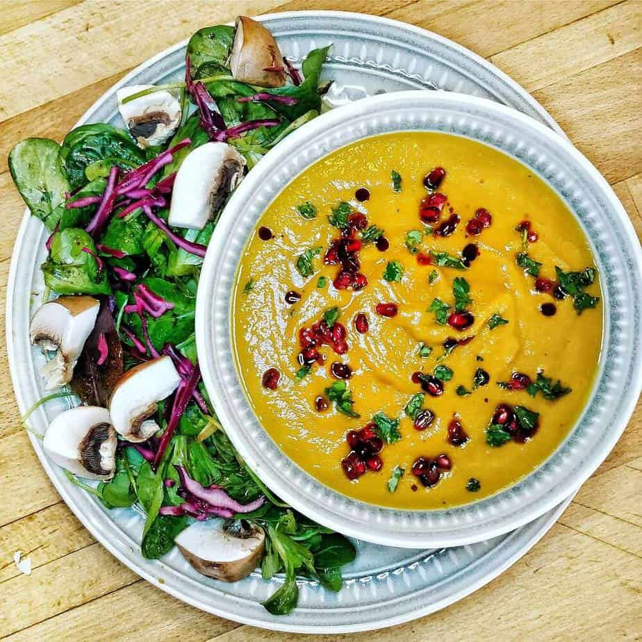 Karotten Rotkohl Suppe Rezept Sarah Tardy
