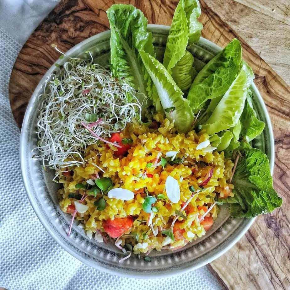 Orientalischer Reissalat Rezept Sarah Tardy