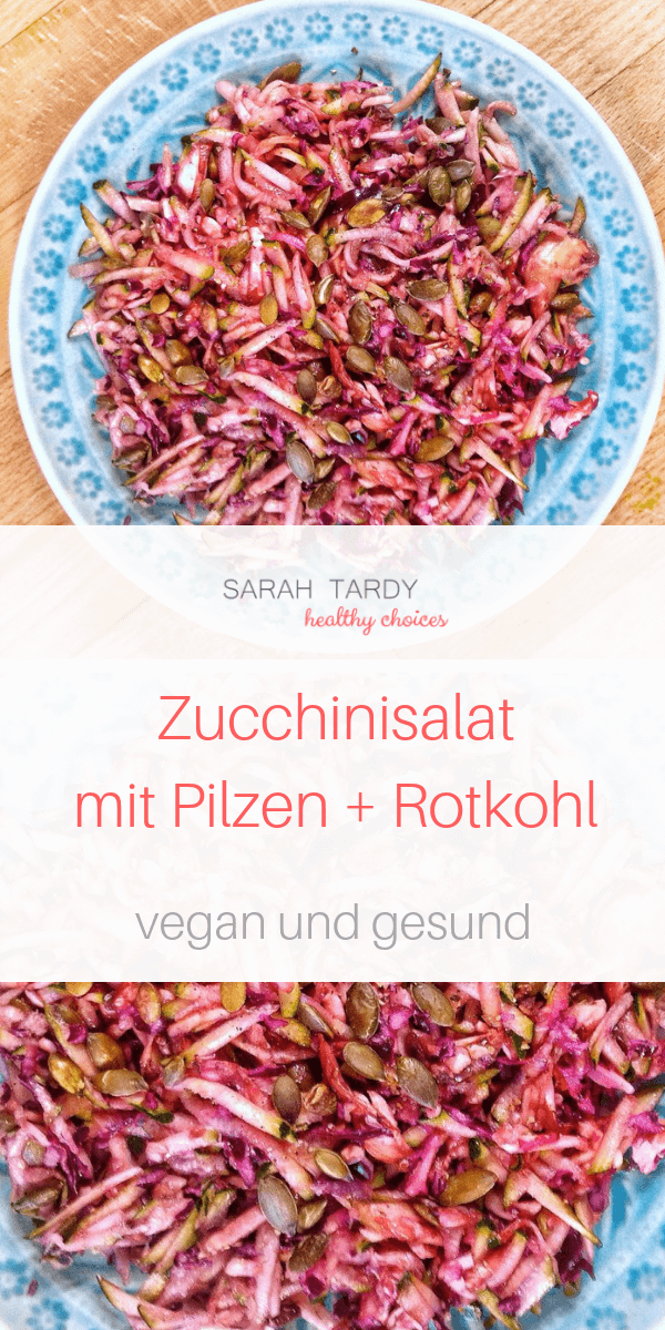 Zucchini Rotkohlsalat Sarah Tardy